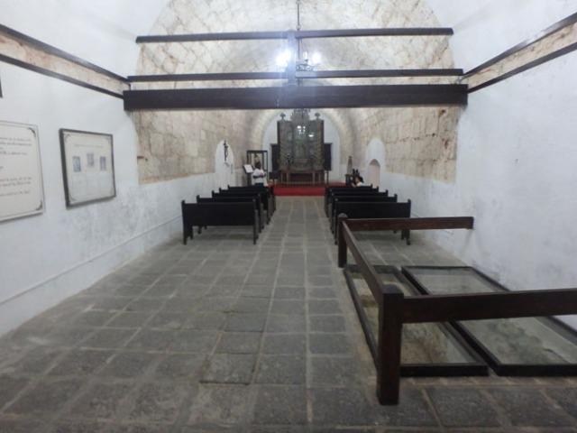 chapel in Cuban fort