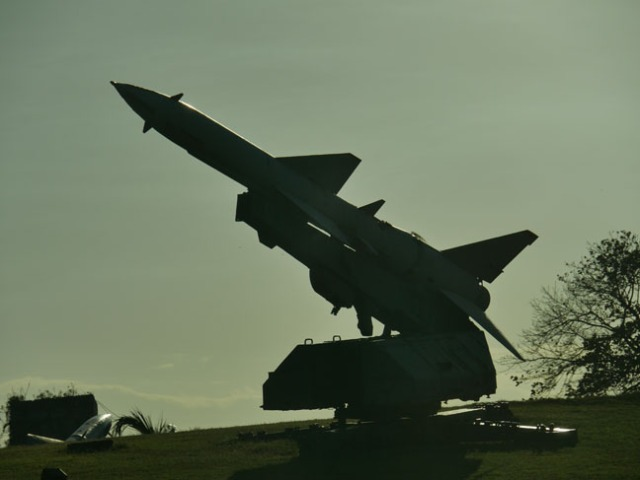 missile display in Cuba