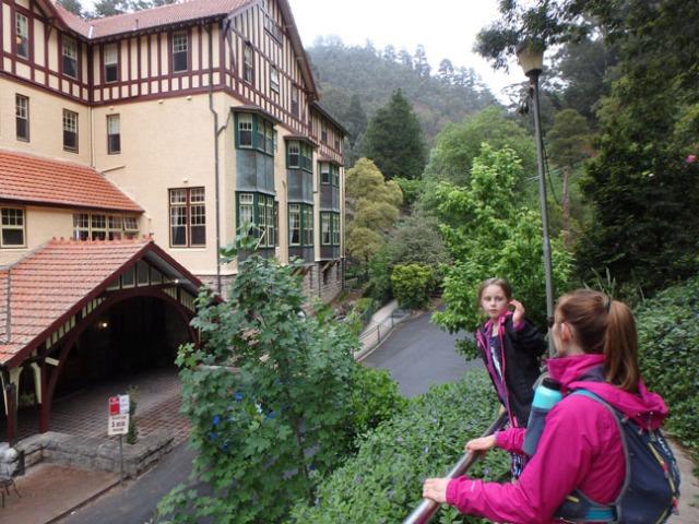 hotel at Jenolan Caves