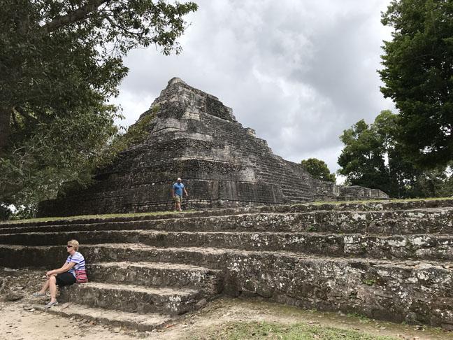 pyramid at Chacchoban