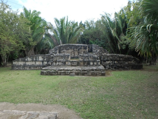 small ruin at Chacchoban