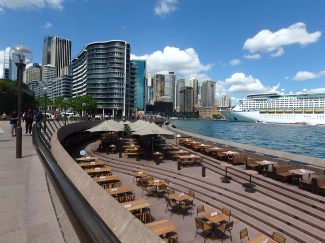 Circular Quay in Sydney, Australia