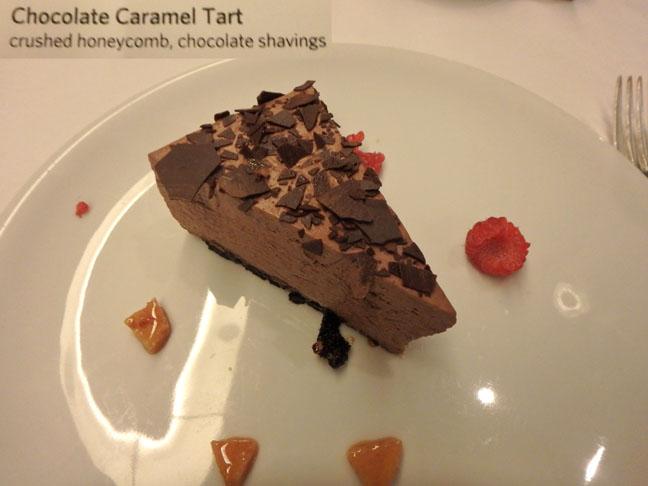 cruise ship dessert
