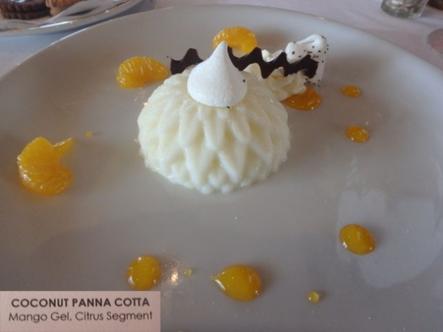 dessert at the Mariner lunch