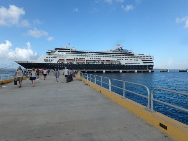 Cozumel cruise ship dock