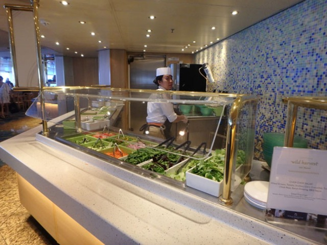 cruise ship salad bar