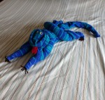 how to fold a towel iguana