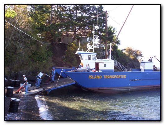 Anacortes island transporter