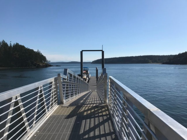James Island dock