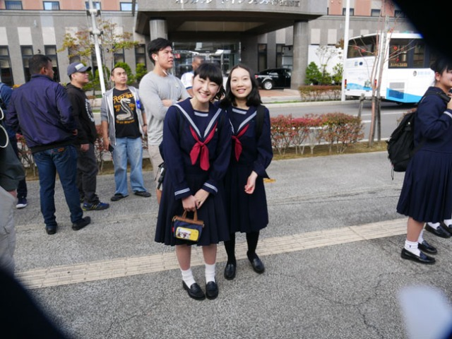 Japanese school girls