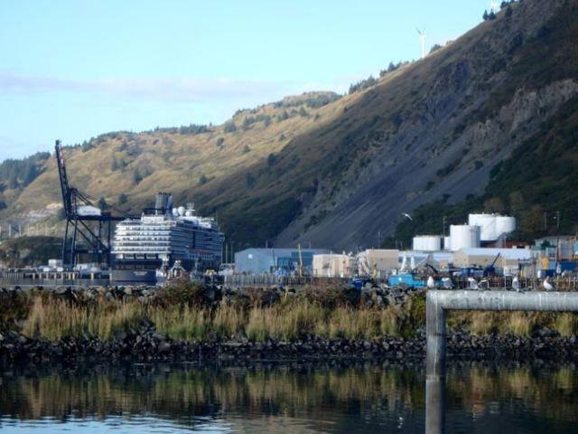 Westerdam in Kodiak