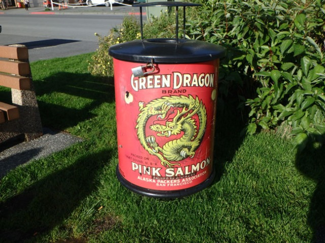 garbage can in Kodiak
