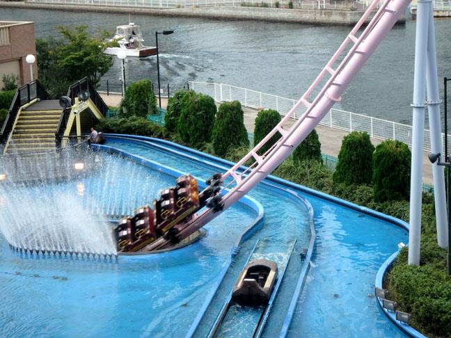 diving roller coaster