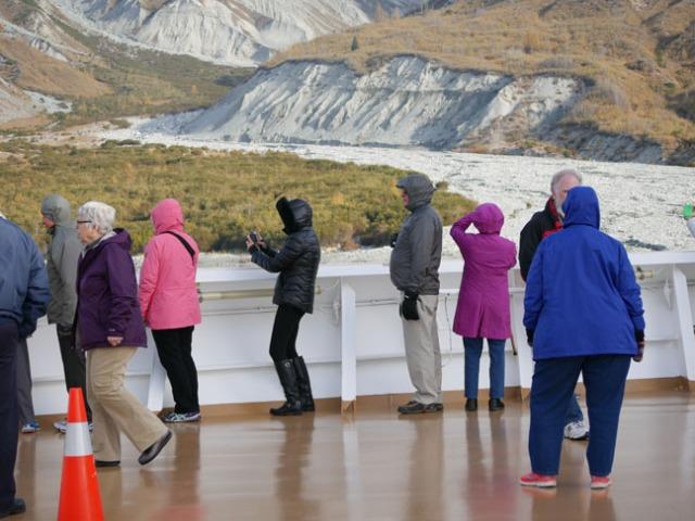 Westerdam in Glacier Bay