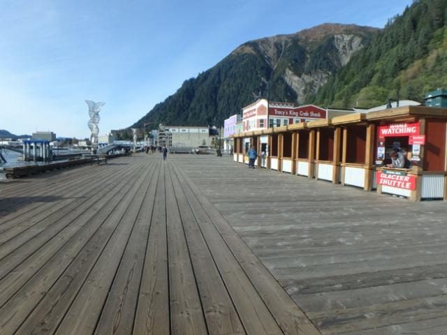 Juneau tour booths