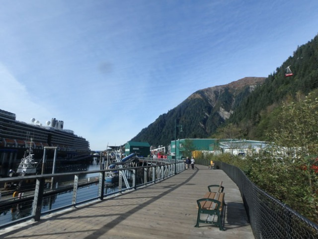 Juneau boardwalk
