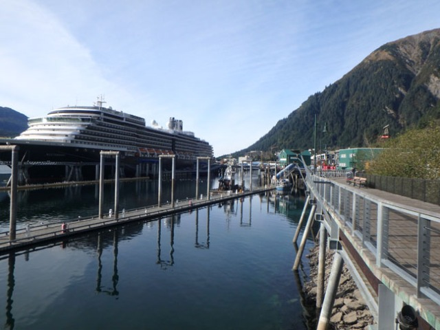 Juneau cruise ship dock