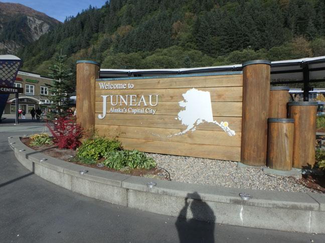Juneau sign
