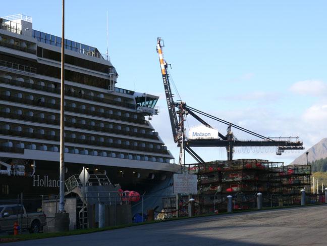 Kodiak cruise port