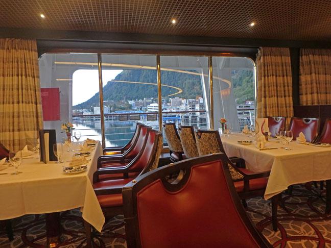 Westerdam dining room