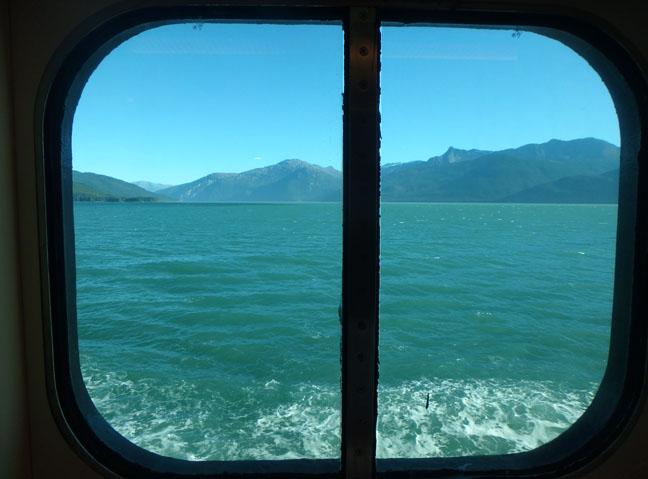 Westerdam oceanview cabin window