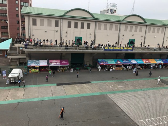 Shimizu cruise terminal