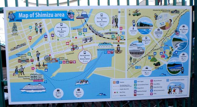 Shimizu map