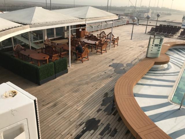 Westerdam back deck