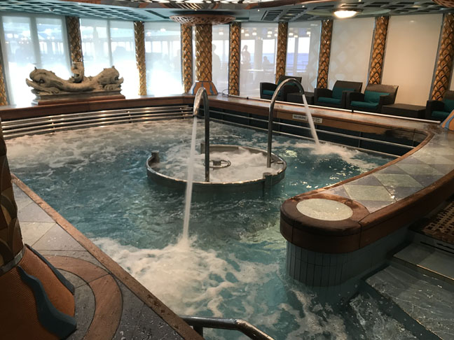 cruise ship spa pool