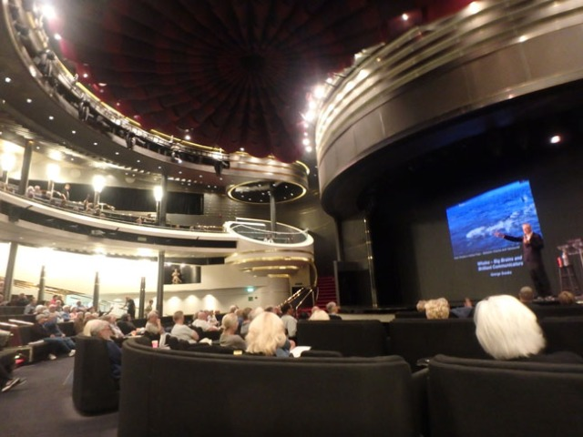 theater on the Westerdam