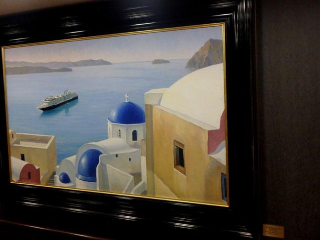 cruise ship art