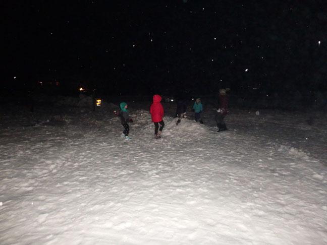 kids love snow