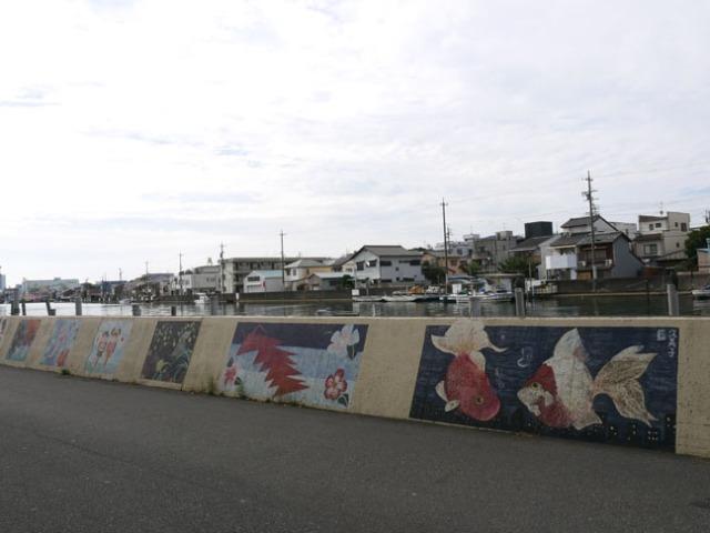 canal in Shimizu