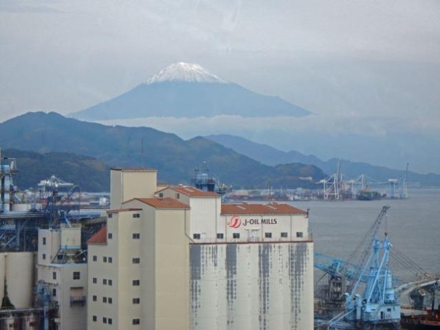 Mt Fuji in Shimizu, Japan