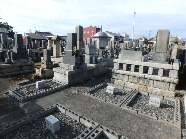 graveyard in Japan
