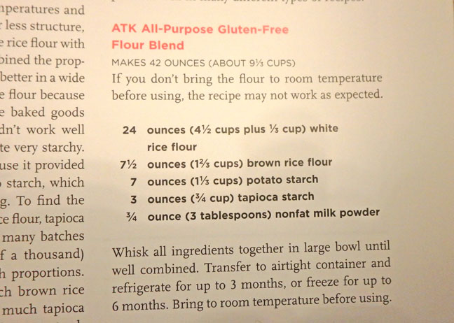 all-purpose gluten free flour blend