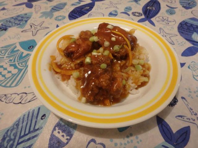 ATK gluten free orange chicken