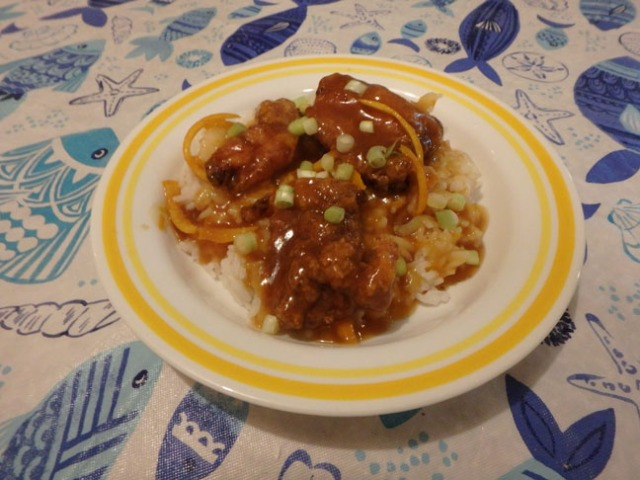 ATK gluten free orange chicken