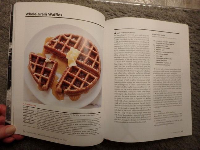 ATK gluten free waffle