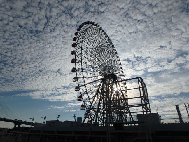 giant wheel in Osaka