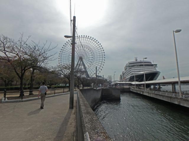 Tempozan cruise pier