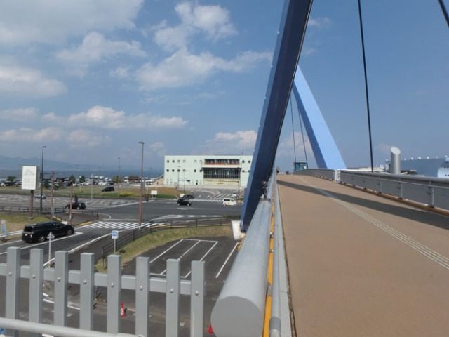 bridge near Beppu, Japan
