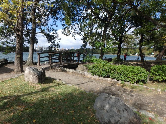 Ohori Park in Fukuoka, Japan