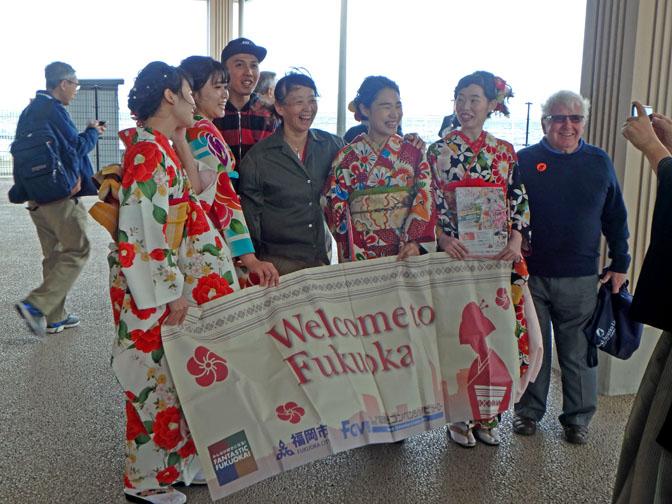 welcome to Fukuoka