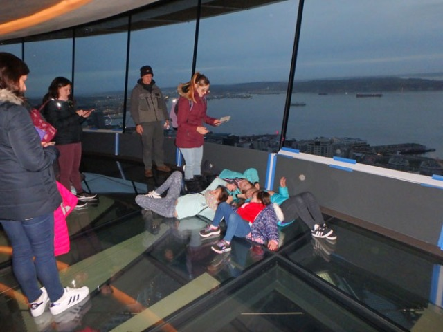 inside Seattle's space needle