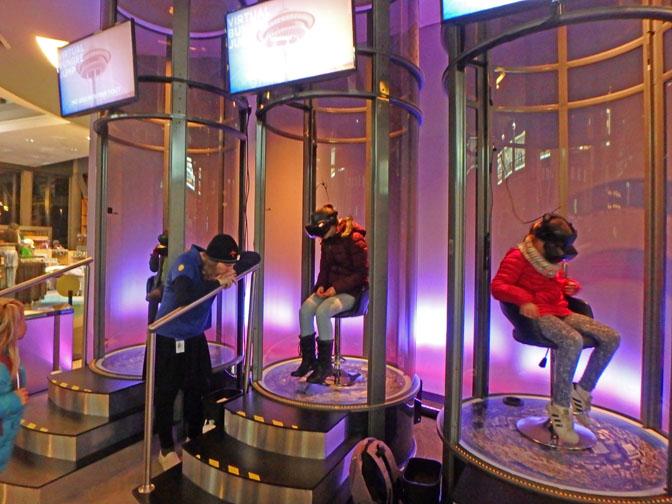 space needle virtual ride