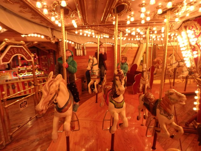 carousel at pier 57 Seattle