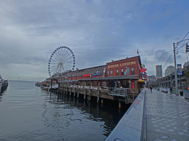 pier 57 in Seattle