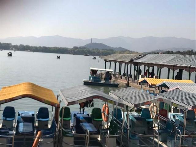 boats at Beijing's Summer Palace