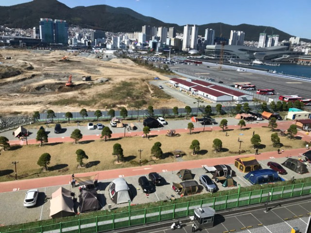 Busan South Korea campground
